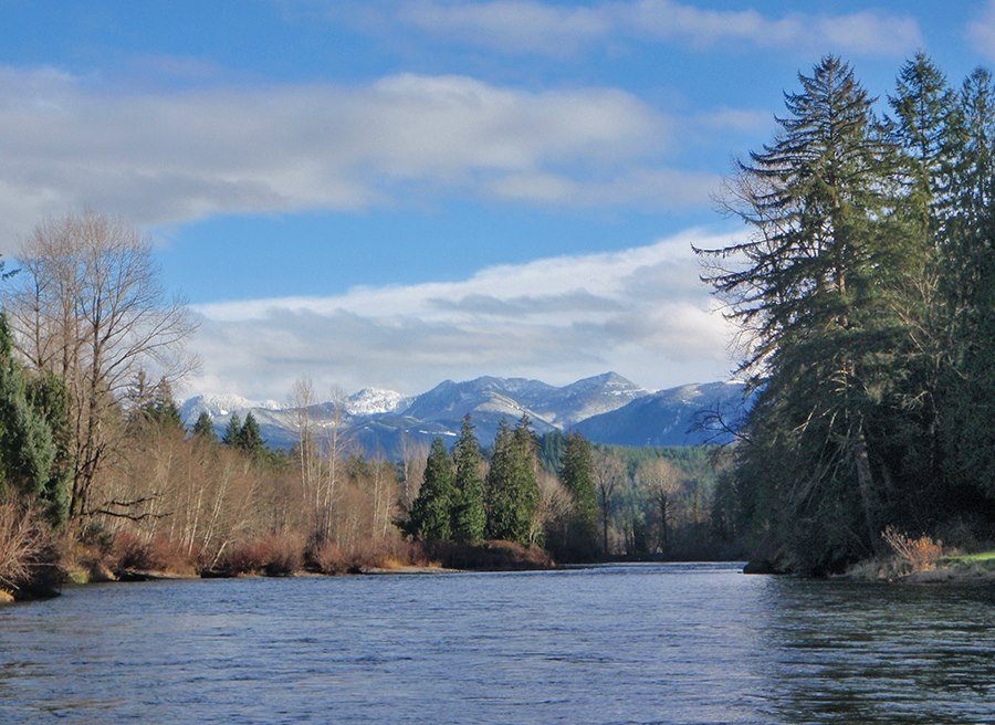 A Day on the Snoqualmie